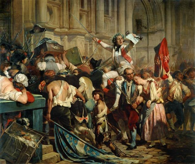 Picture credit: Hippolyte Delaroche, The Conquerors of the Bastille, 1839